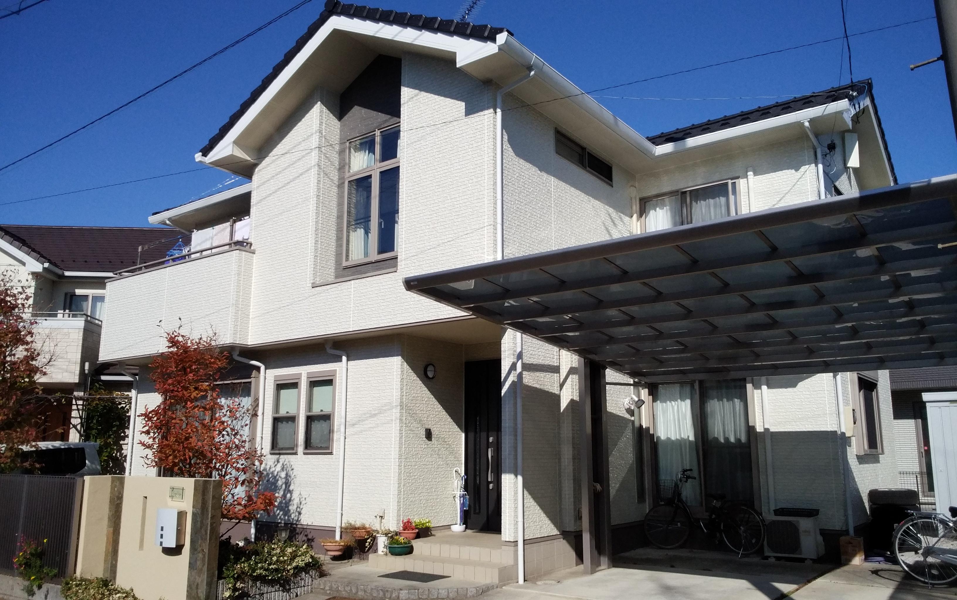 嵐山町 S様邸 外壁塗装工事