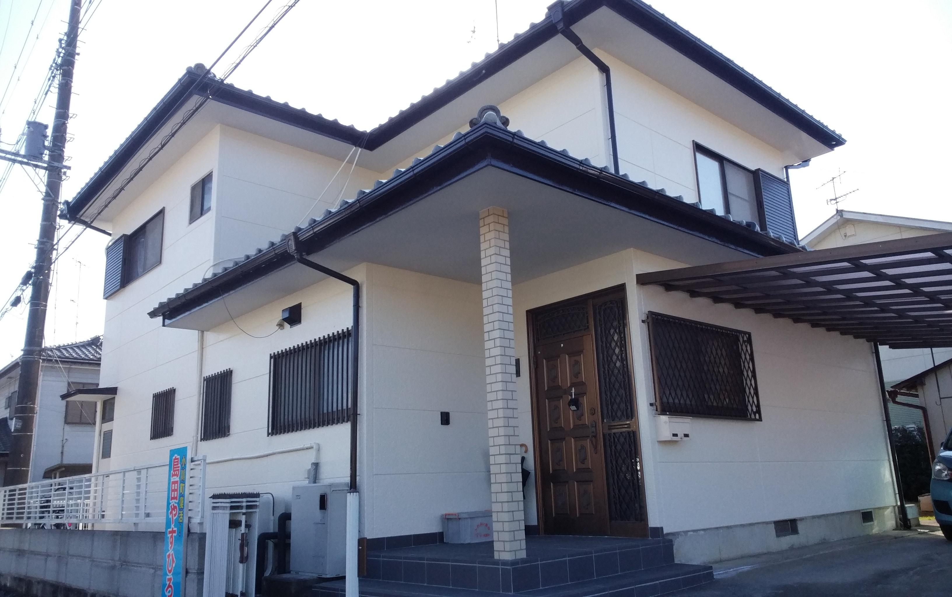 小川町 K様邸 外壁塗装工事