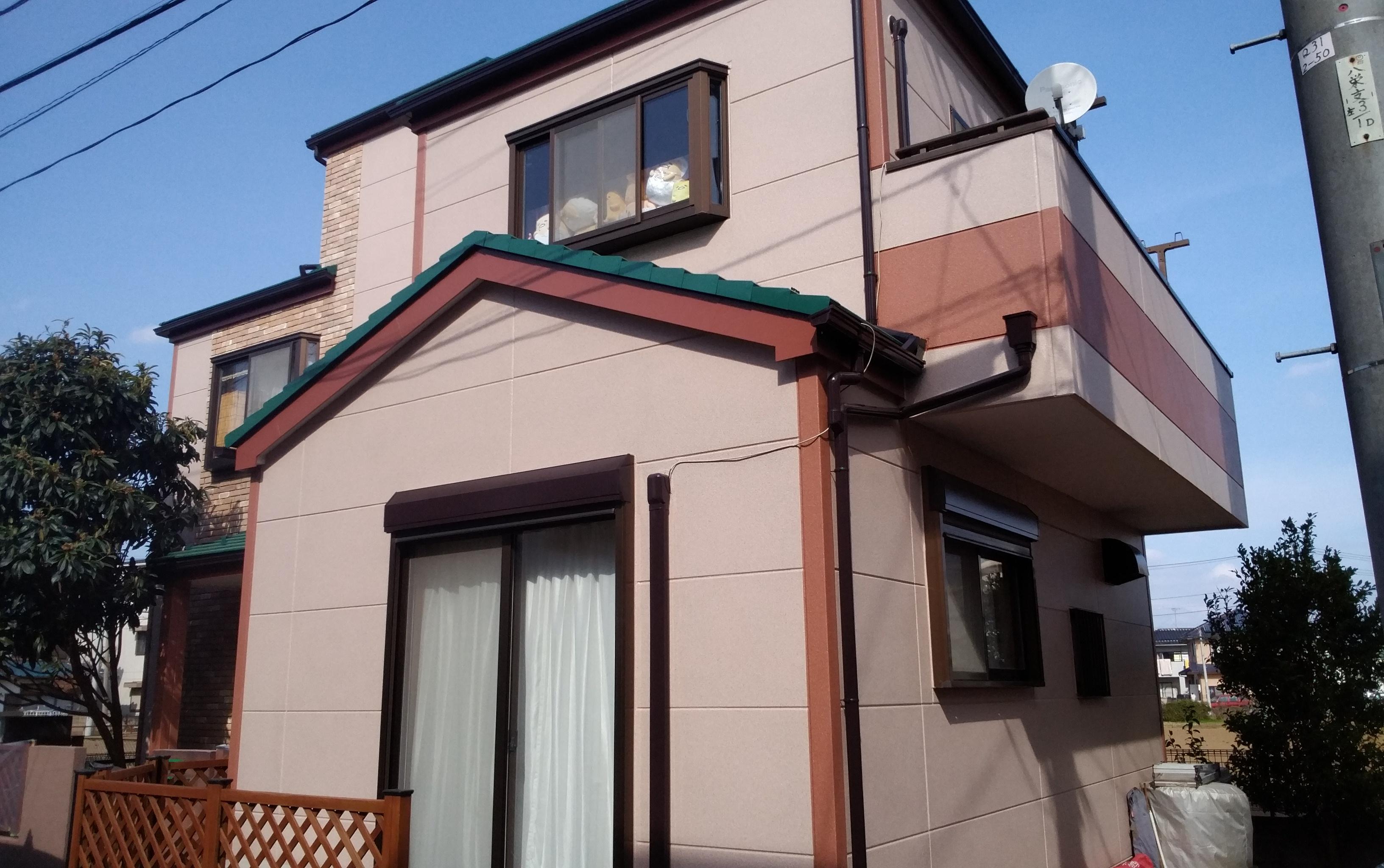 新座市 Y様邸 外壁屋根塗装工事