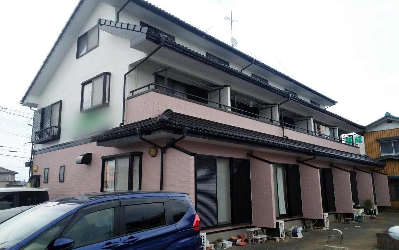 東松山市 Yアパート塗装工事