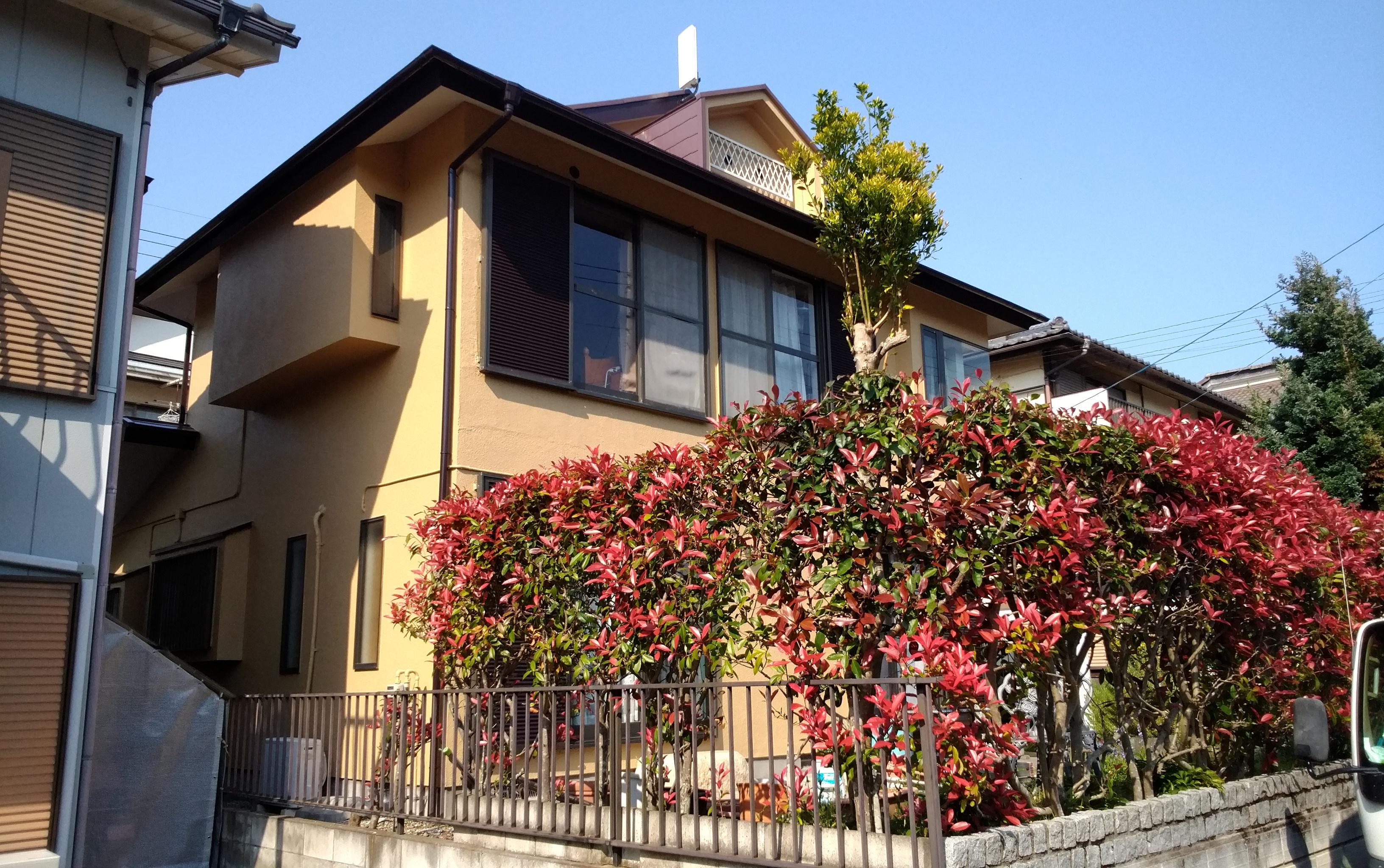 小川町 A様邸 外壁・屋根塗装工事