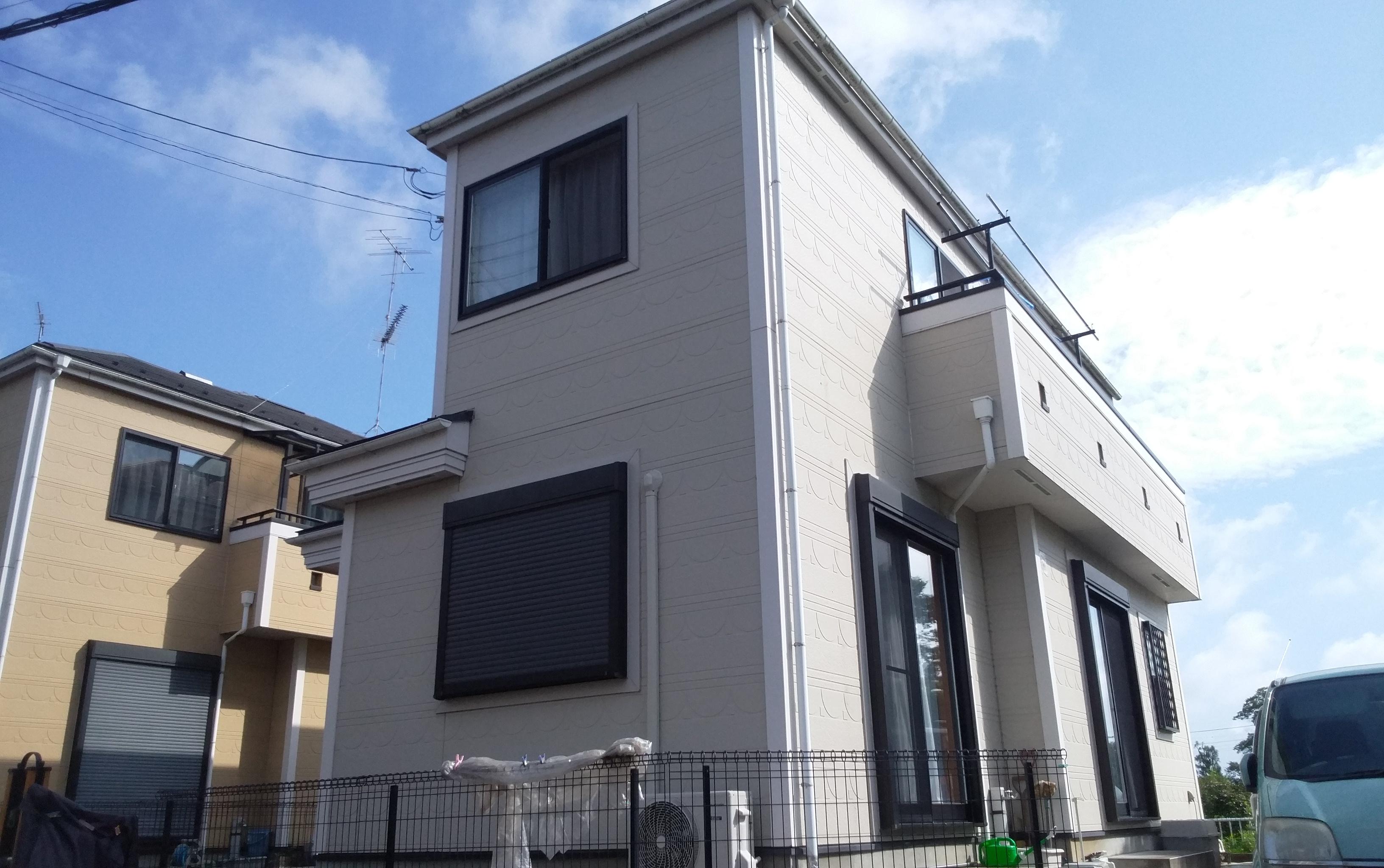 久喜市 N様邸 外壁屋根塗装工事