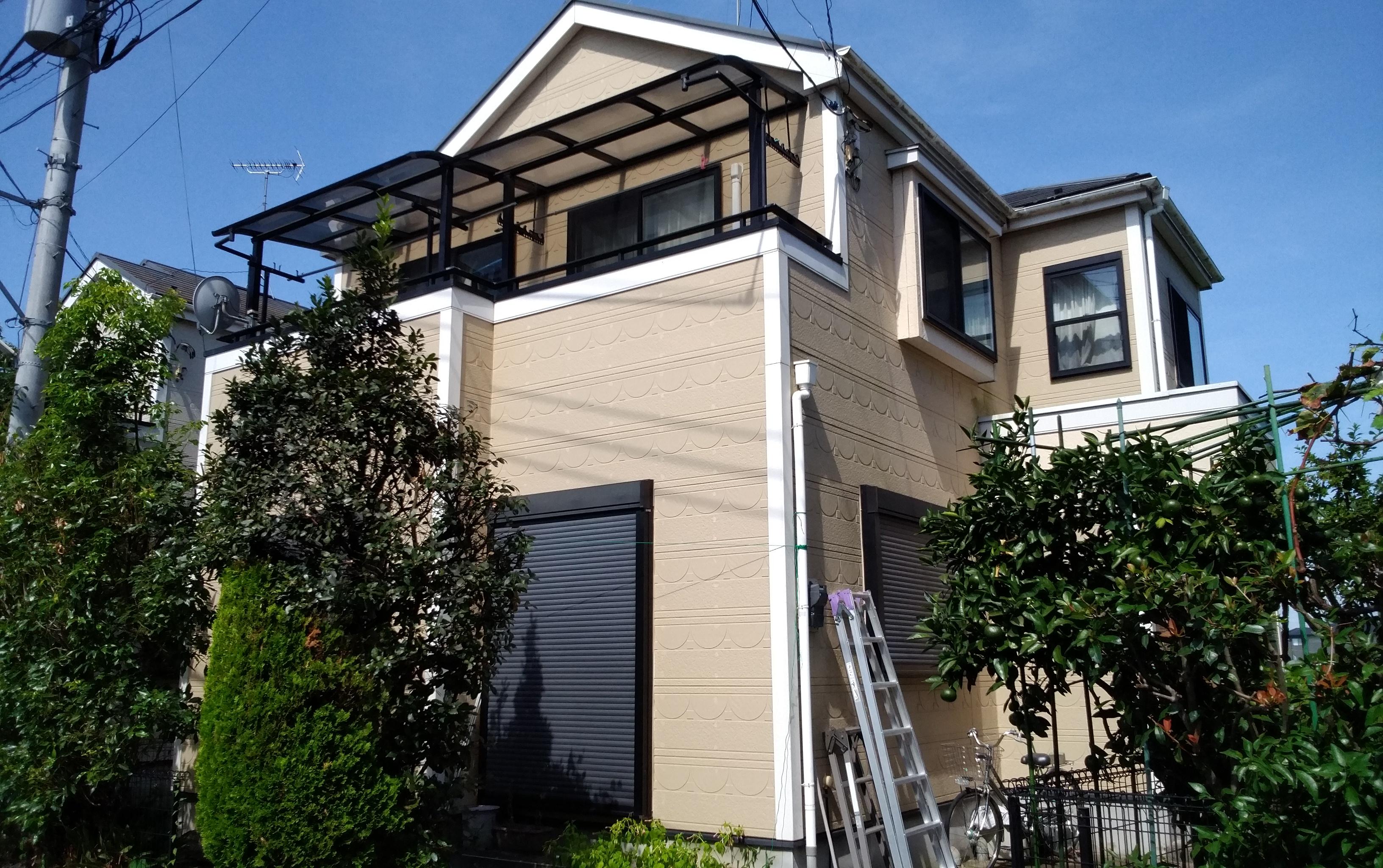 久喜市 M様邸 外壁屋根塗装工事